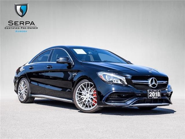 2018 Mercedes-Benz AMG CLA 45 Base (Stk: P1493) in Aurora - Image 1 of 26