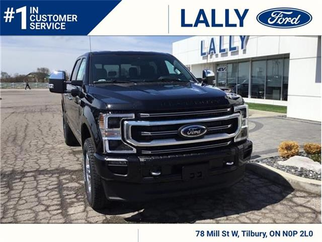 2021 Ford F-250 Platinum (Stk: FF27503) in Tilbury - Image 1 of 9