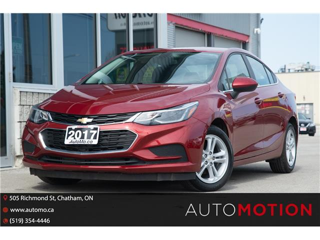 2017 Chevrolet Cruze LT Auto (Stk: 21390) in Chatham - Image 1 of 22