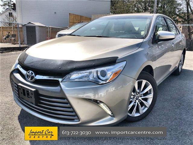2016 Toyota Camry XLE (Stk: 527365) in Ottawa - Image 1 of 26