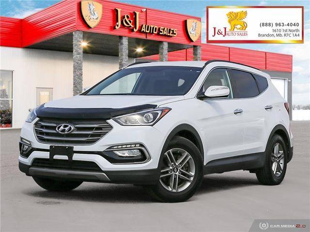 2018 Hyundai Santa Fe Sport 2.4 Premium (Stk: J21047) in Brandon - Image 1 of 27