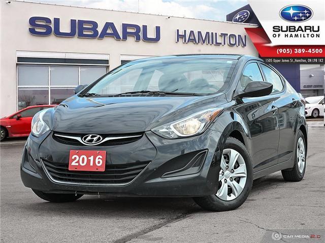 2016 Hyundai Elantra GL (Stk: S8669A) in Hamilton - Image 1 of 26