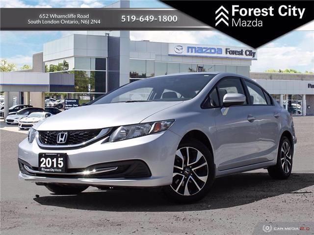 2015 Honda Civic EX (Stk: 21C53639A) in Sudbury - Image 1 of 29