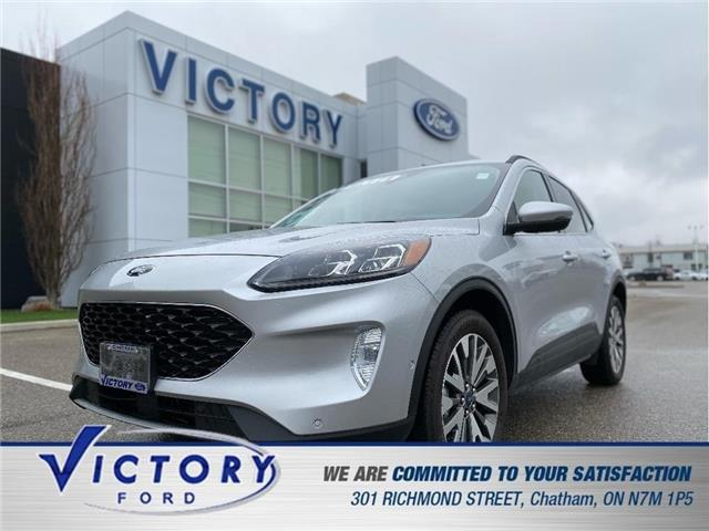 2020 Ford Escape Titanium (Stk: V10444CAP) in Chatham - Image 1 of 25