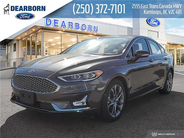 2020 Ford Fusion Hybrid Titanium (Stk: ZL013) in Kamloops - Image 1 of 26