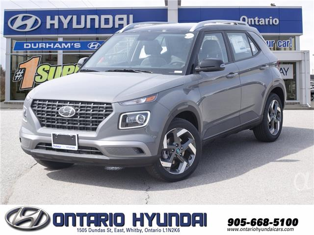 2021 Hyundai Venue Ultimate w/Black Interior (IVT) (Stk: 101946) in Whitby - Image 1 of 19