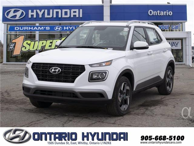 2021 Hyundai Venue Ultimate w/Black Interior (IVT) (Stk: 103654) in Whitby - Image 1 of 21