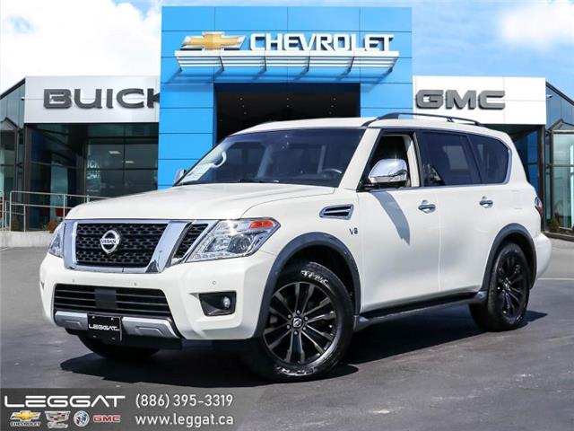 2017 Nissan Armada Platinum Edition (Stk: 218579A) in Burlington - Image 1 of 30