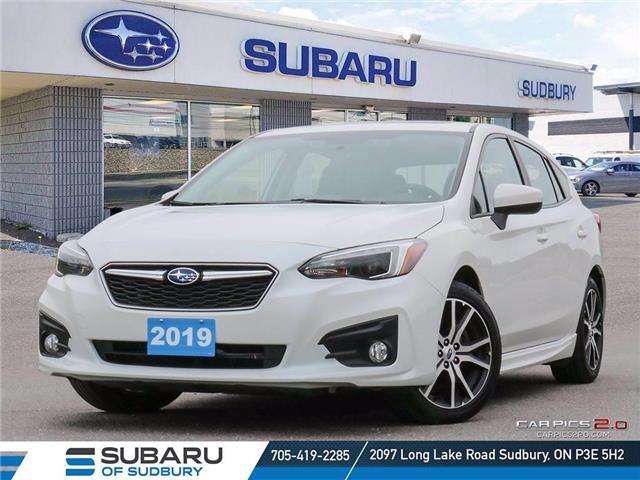 2019 Subaru Impreza Sport (Stk: STK) in Sudbury - Image 1 of 32