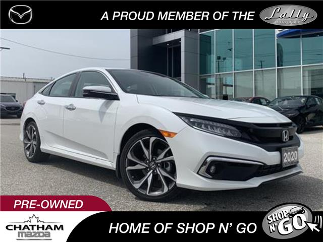 2020 Honda Civic Touring (Stk: UM2596) in Chatham - Image 1 of 22