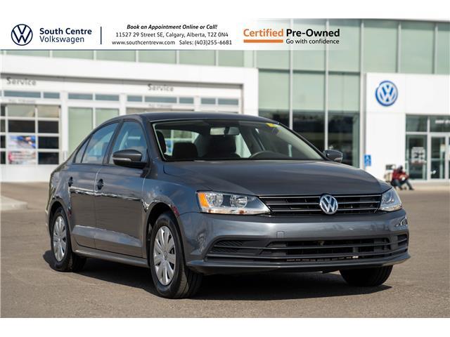 2015 Volkswagen Jetta 2.0L Trendline+ (Stk: 10219A) in Calgary - Image 1 of 36