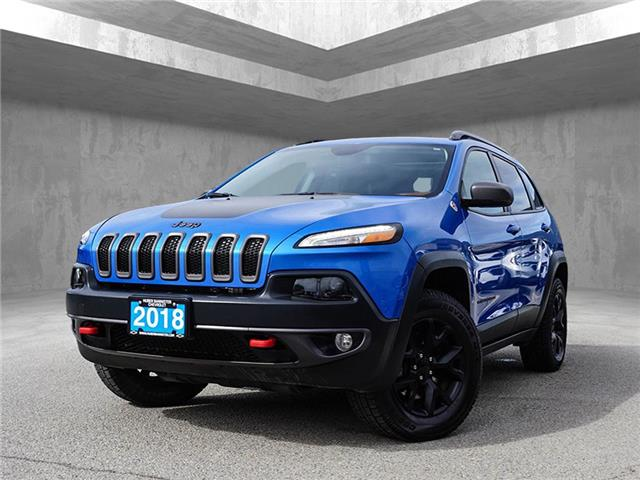 2018 Jeep Cherokee Trailhawk (Stk: 9737A) in Penticton - Image 1 of 22