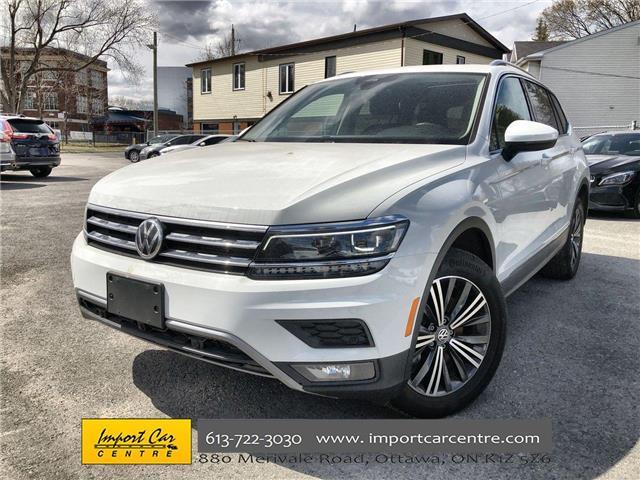 2019 Volkswagen Tiguan Highline (Stk: 076165) in Ottawa - Image 1 of 27