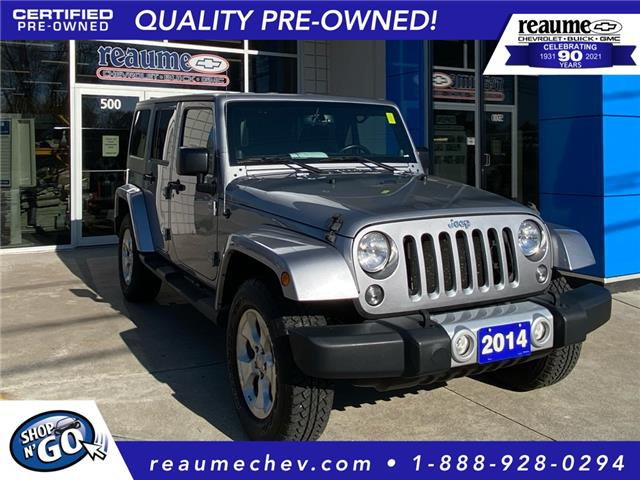 2014 Jeep Wrangler Unlimited Sahara (Stk: P-4516) in LaSalle - Image 1 of 23