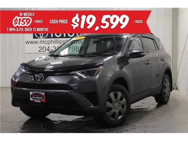2016 Toyota RAV4 LE (Stk: C182310A) in Winnipeg - Image 1 of 24