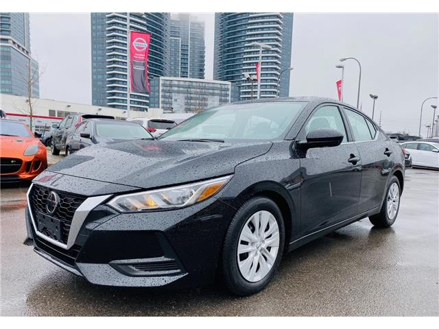 2020 Nissan Sentra S Plus (Stk: N1734A) in Thornhill - Image 1 of 10