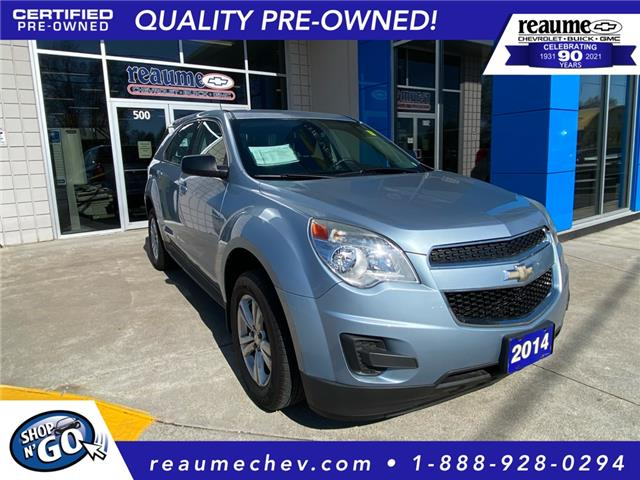 2014 Chevrolet Equinox LS (Stk: 21-0307A) in LaSalle - Image 1 of 23