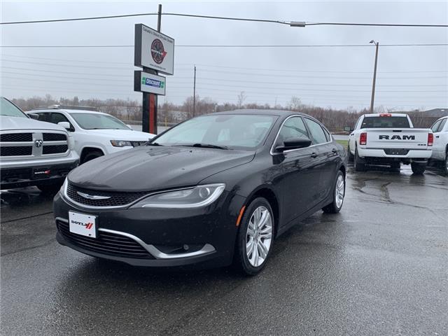 2015 Chrysler 200 Limited (Stk: 68851) in Sudbury - Image 1 of 16