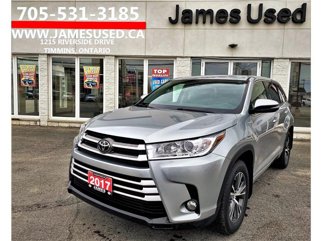 2017 Toyota Highlander LE (Stk: P02910) in Timmins - Image 1 of 14