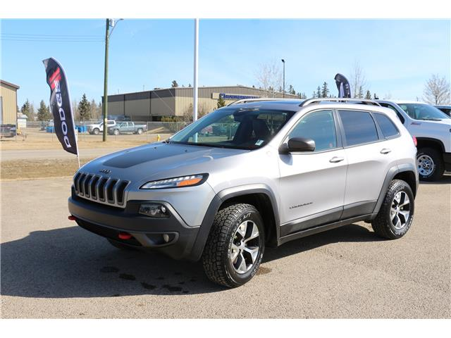 2017 Jeep Cherokee Trailhawk (Stk: MP038) in Rocky Mountain House - Image 1 of 30