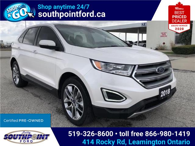 2018 Ford Edge Titanium (Stk: S6907A) in Leamington - Image 1 of 27