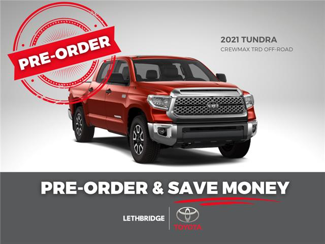 2021 Toyota Tundra SR5 (Stk: TP4DY5F1TC) in Lethbridge - Image 1 of 1