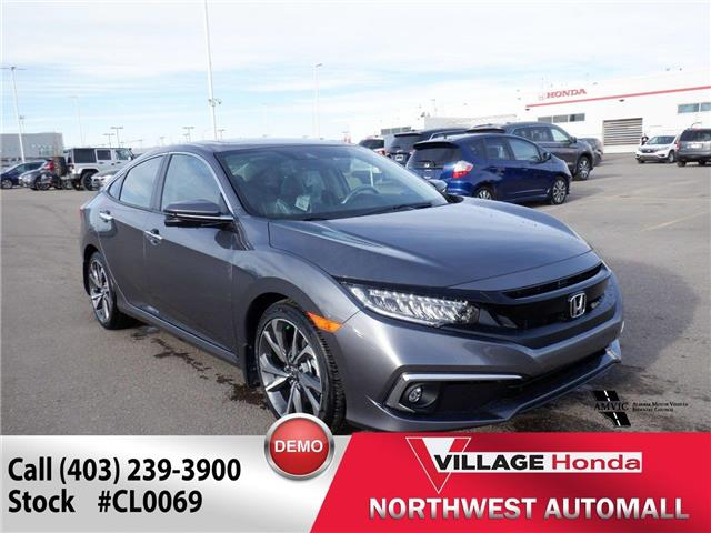2021 Honda Civic Touring (Stk: CL0069) in Calgary - Image 1 of 3
