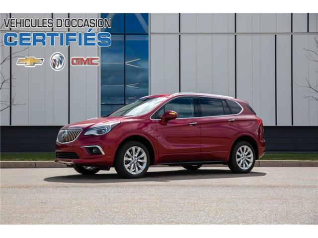 2017 Buick Envision Essence (Stk: 34593A) in Trois-Rivières - Image 1 of 30