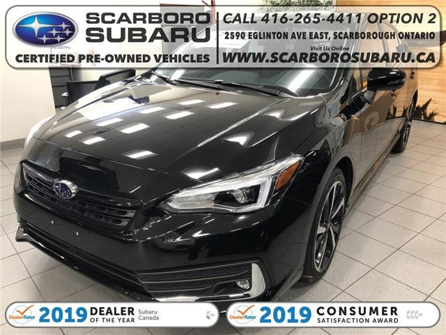 2020 Subaru Impreza Sport-tech (Stk: L3611736) in Scarborough - Image 1 of 13