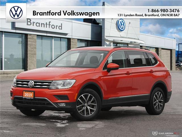 2019 Volkswagen Tiguan Comfortline (Stk: GG21570A) in Brantford - Image 1 of 27