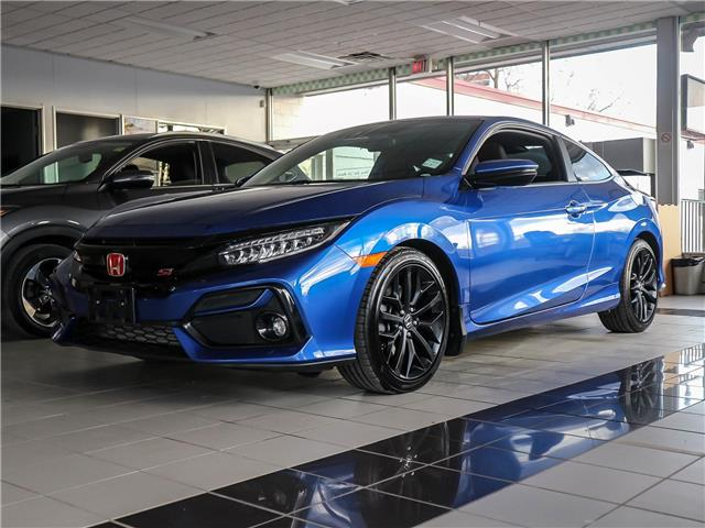 2020 Honda Civic Si Base (Stk: H84401) in Ottawa - Image 1 of 25