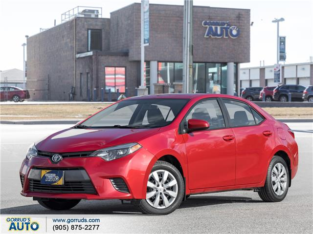 2016 Toyota Corolla LE (Stk: 709824) in Milton - Image 1 of 20