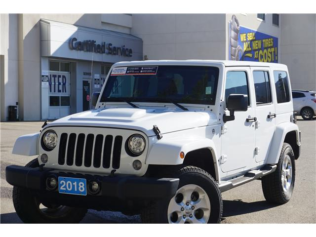 2018 Jeep Wrangler JK Unlimited Sahara (Stk: 20-256A) in Salmon Arm - Image 1 of 25