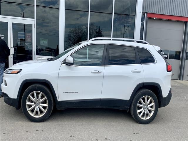 2016 Jeep Cherokee Limited (Stk: 21551) in Chatham - Image 1 of 1