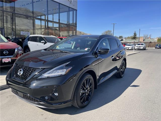 2021 Nissan Murano Midnight Edition (Stk: T21125) in Kamloops - Image 1 of 27