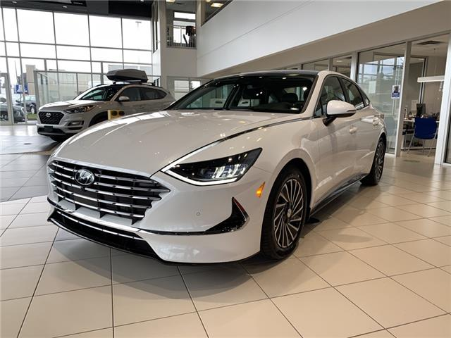 2021 Hyundai Sonata Hybrid Ultimate (Stk: S20137) in Ottawa - Image 1 of 21