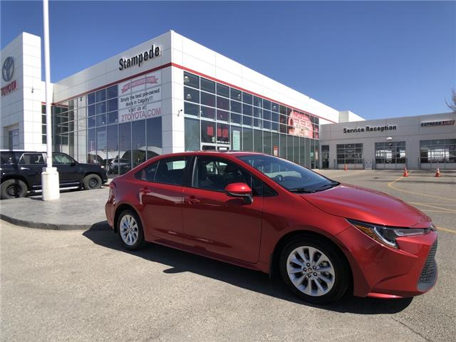 2020 Toyota Corolla LE (Stk: 9410A) in Calgary - Image 1 of 23