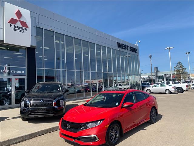 2020 Honda Civic EX (Stk: BM4098) in Edmonton - Image 1 of 24