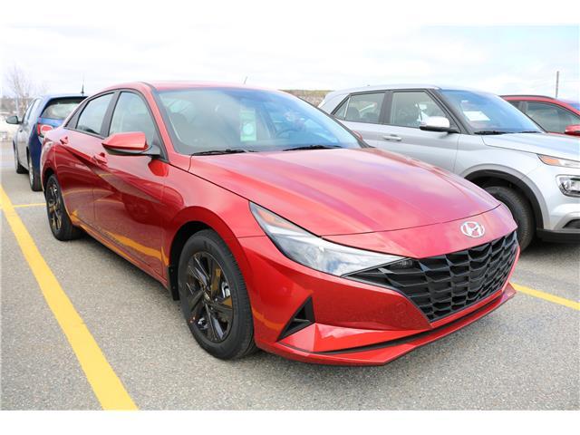 2021 Hyundai Elantra Preferred w/Sun & Tech Pkg (Stk: 12632) in Saint John - Image 1 of 17