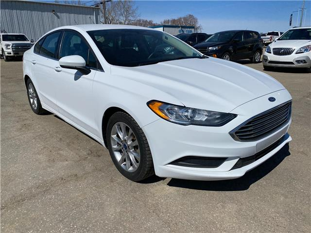 2017 Ford Fusion SE 3FA6P0H71HR127672 21U117 in Wilkie