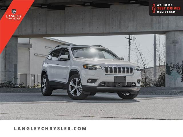2021 Jeep Cherokee Limited (Stk: M143733) in Surrey - Image 1 of 27