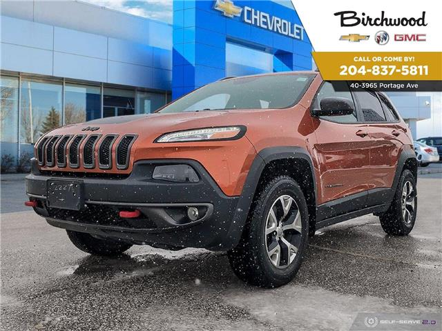 2016 Jeep Cherokee Trailhawk (Stk: F3W86H) in Winnipeg - Image 1 of 27