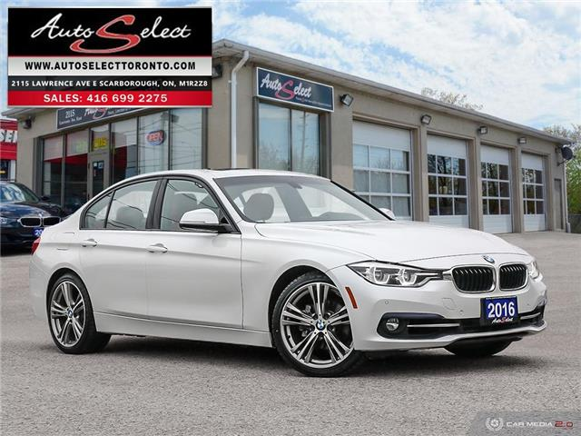 2016 BMW 328i xDrive (Stk: 1RMP797) in Scarborough - Image 1 of 28
