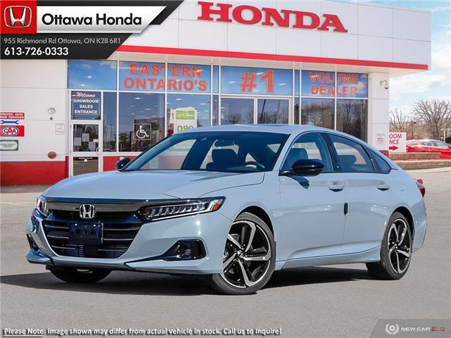 2021 Honda Accord Sport 2.0T (Stk: 344530) in Ottawa - Image 1 of 23