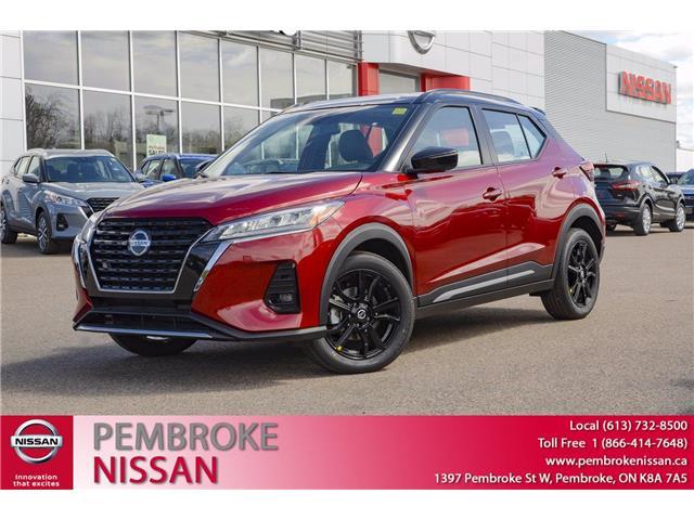 2021 Nissan Kicks SR (Stk: 21100) in Pembroke - Image 1 of 31