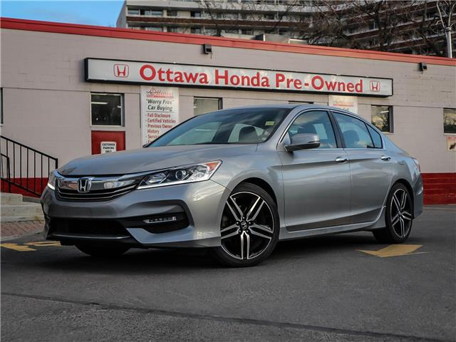2017 Honda Accord Sport (Stk: H89100) in Ottawa - Image 1 of 29