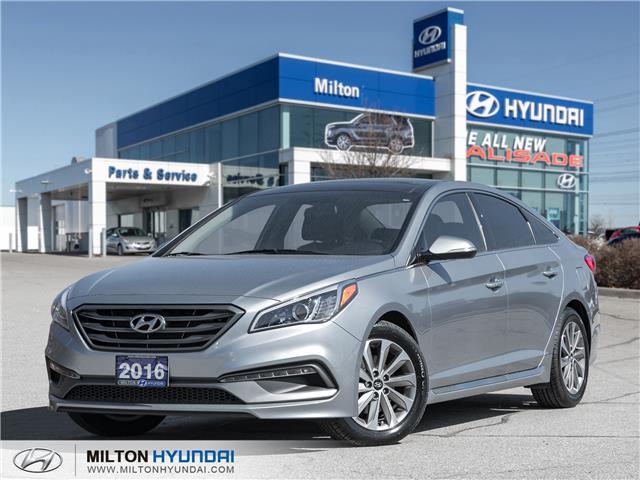 2016 Hyundai Sonata Sport Tech (Stk: 289289A) in Milton - Image 1 of 21