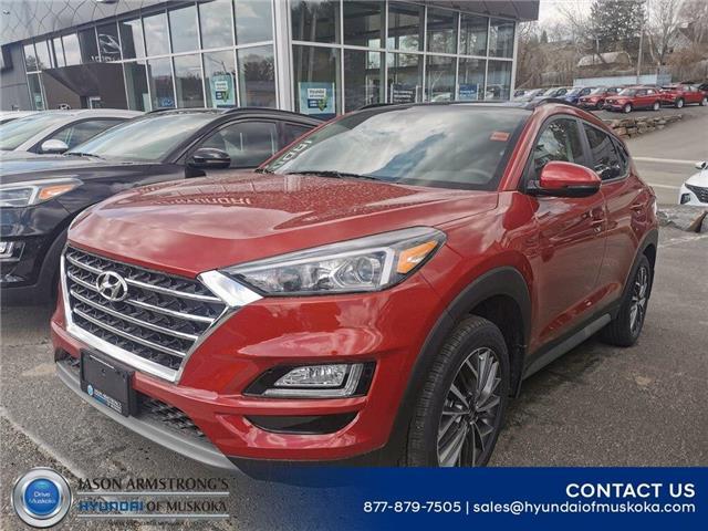 2021 Hyundai Tucson Luxury (Stk: 121-123) in Huntsville - Image 1 of 9