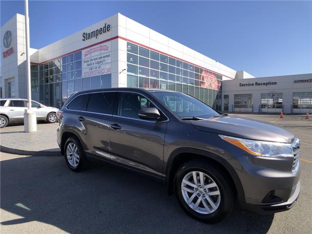 2014 Toyota Highlander LE (Stk: 210321A) in Calgary - Image 1 of 23