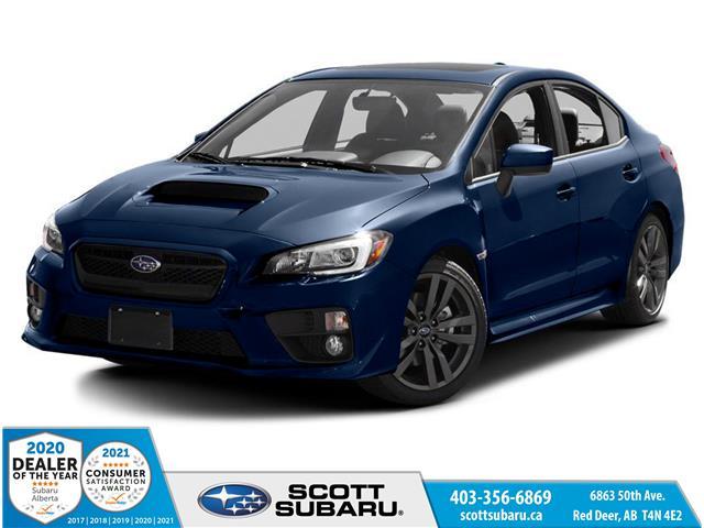 2016 Subaru WRX Sport-tech Package JF1VA1L61G9828224 28224U in Red Deer